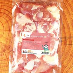 (수월한) 닭다리살조각정육 2.5KG (500g * 5Ea)