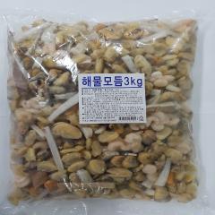 해물모듬3kg x 2ea