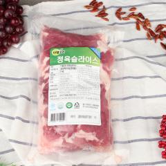 다향오리-정육슬라이스 - 국산 5kg(1kg*5ea)