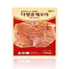 다향오리 - (냉장)다향훈제오리 슬라이스 - 국산 2kg (400g * 5ea)