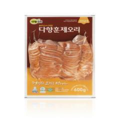 다향오리 - (냉장)다향훈제오리 슬라이스 - 국산 3kg (600g * 5ea)