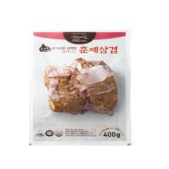 다향오리 - (냉장)흑마늘로 숙성한 담백한슬라이스 훈제삼겹 - 2kg (400g * 5ea)