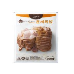 다향오리 - (냉장)흑마늘로 숙성한 담백한슬라이스 훈제목심 - 2kg (400g * 5ea)