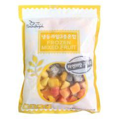 푸드야 냉동과일 3종혼합(망고,용과,파파야)1kg