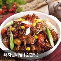 [신규] 돼지갈비찜(순한맛) 4KG (1KG*4팩)
